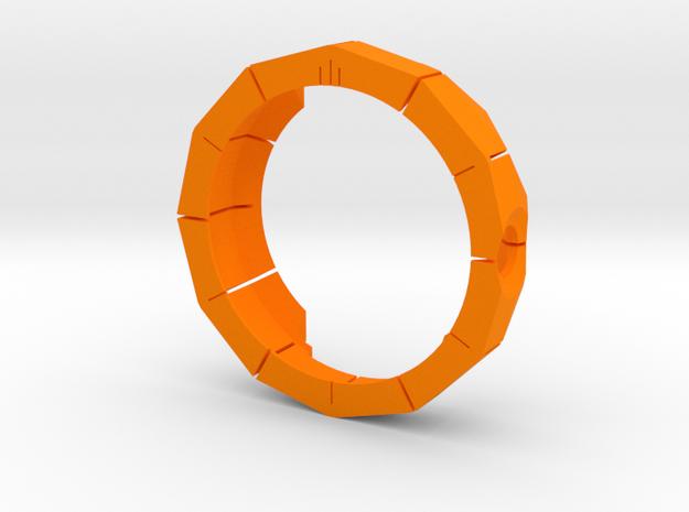Moto 360 Rugged Case in Orange Strong & Flexible Polished