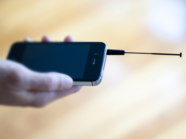 Smart Antenna  in Black Natural Versatile Plastic