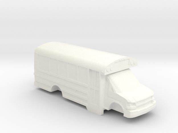 ho scale thomas minotour chevy express school bus
