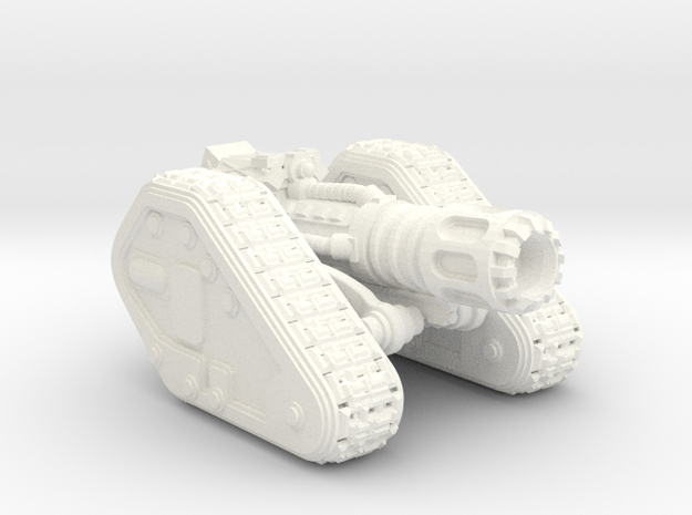 Base Scimitar V3-LD in White Processed Versatile Plastic