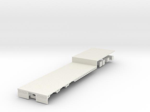 000503 Australia B Semi matching items 000501 1:87 in White Natural Versatile Plastic