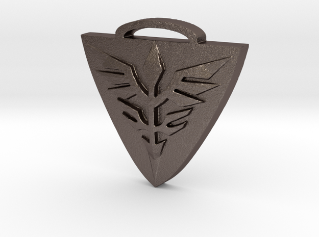 Neo Zeon Keychain in Stainless Steel