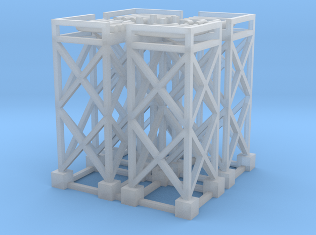 N Pipe Rack Corner 90° 28mm (4pc)