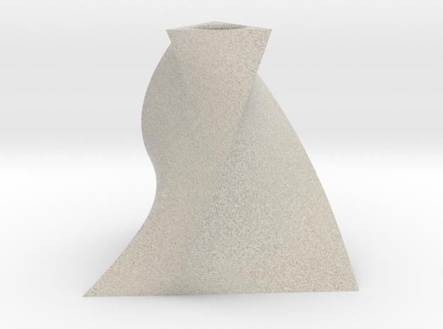 Twist Bud Vase 3 in Natural Sandstone