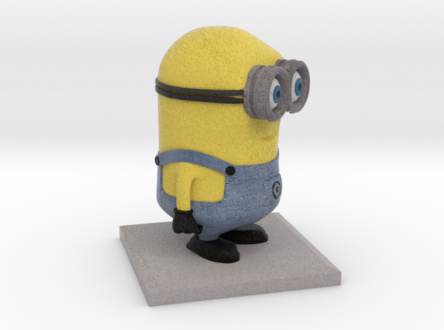 Minion Despicable Me (8cm height) in Full Color Sandstone