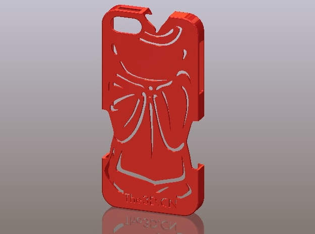 iPhone5_The Chinese Style -- Ancient costume 04 3d printed