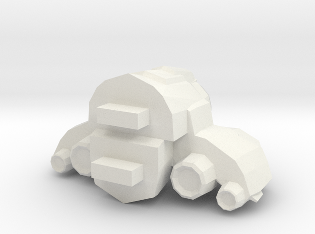Legion - 005 Engine - 01 Chassis Optimization in White Strong & Flexible