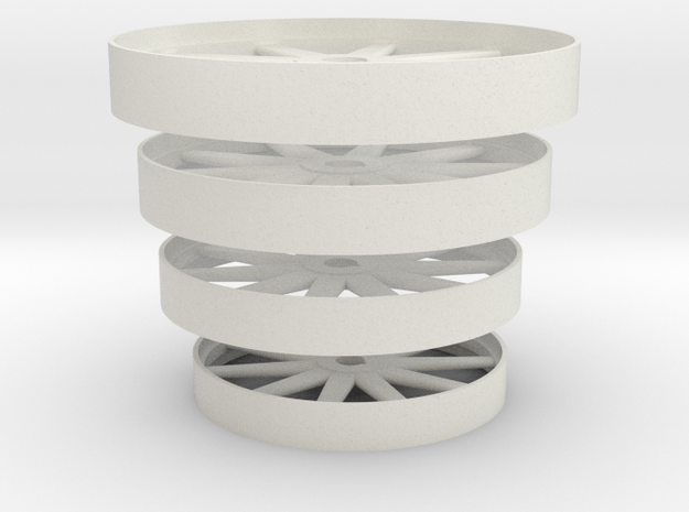 Flywheels4sizes in White Strong & Flexible