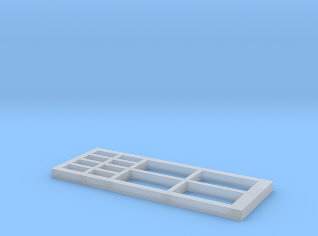 Signalbox Window March East 1 in Smooth Fine Detail Plastic