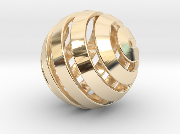 Ball-14-5 in 14K Yellow Gold