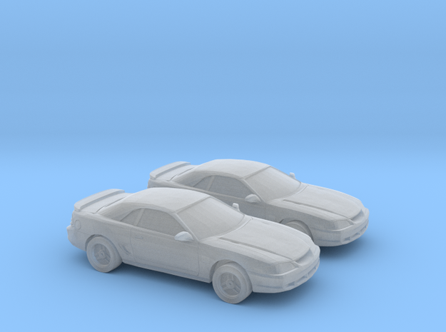 1/160 2X  1994-98 Ford Mustang Convertible in Smooth Fine Detail Plastic