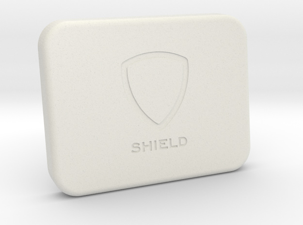 Shield for Blackmagic Camera Screen in White Strong & Flexible
