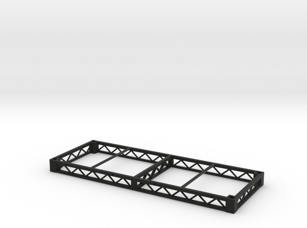 1:25 Platform 8x3, frame only in Black Strong & Flexible