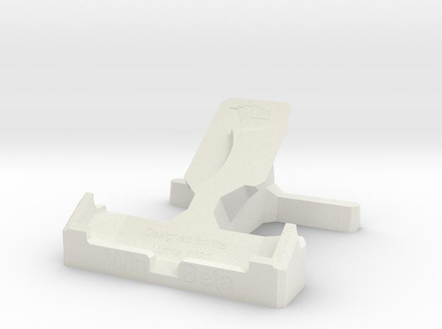 Lumia 1020 Desk Stand in White Natural Versatile Plastic