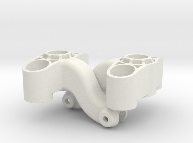 7034 Axle Carrier PA2200 LR in White Natural Versatile Plastic