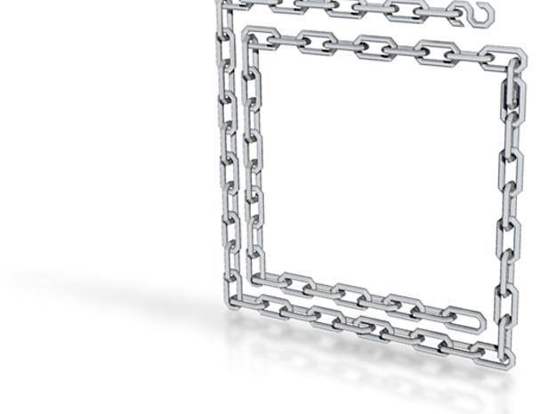 Dwarven Chain 62 Links 3d printed