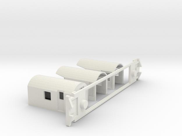 AG Luggage/Generator, NZ, (NZ120 / TT, 1:120) 3d printed