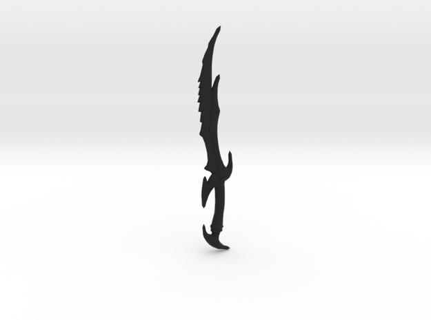 Skyrim Daedric Sword Letter Opener in Black Strong & Flexible