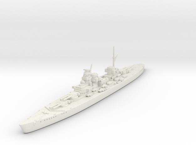 1/1800 KM H-44 Class BB in White Natural Versatile Plastic