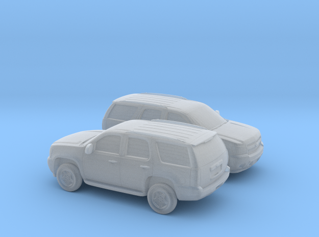 1/160 2X 2006-14 Chevrolet  Tahoe in Frosted Ultra Detail