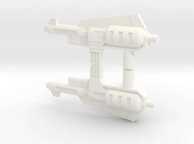 Update Blaster 2x Set in White Processed Versatile Plastic