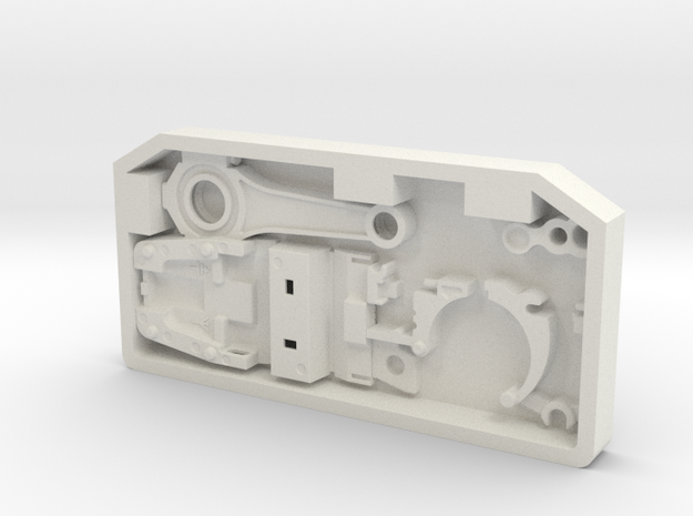 Stock Greeble JK LH in White Strong & Flexible