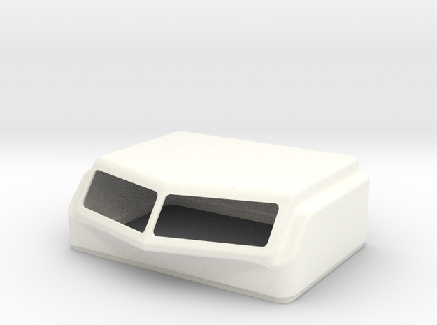 KW Aero 1 Style Cap For Stock Bunk in White Strong & Flexible Polished