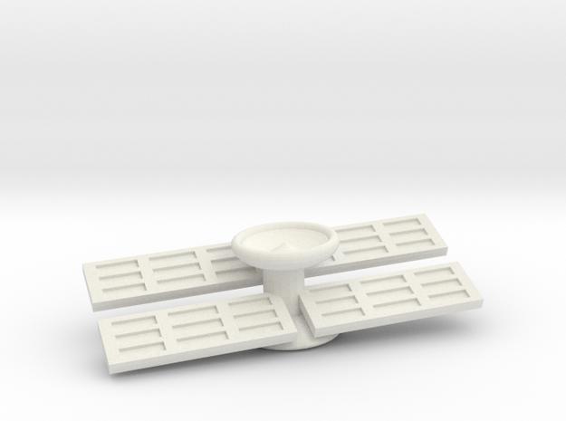 XCOM:TBG Satellite v2 Single in White Natural Versatile Plastic