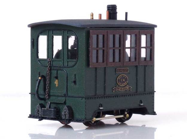 TNHT Loc 4 1932 scale 1:87 in Smooth Fine Detail Plastic