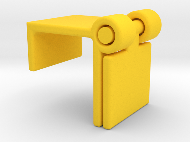 Logitch c920 Webcam Flip Cover in Yellow Strong & Flexible Polished