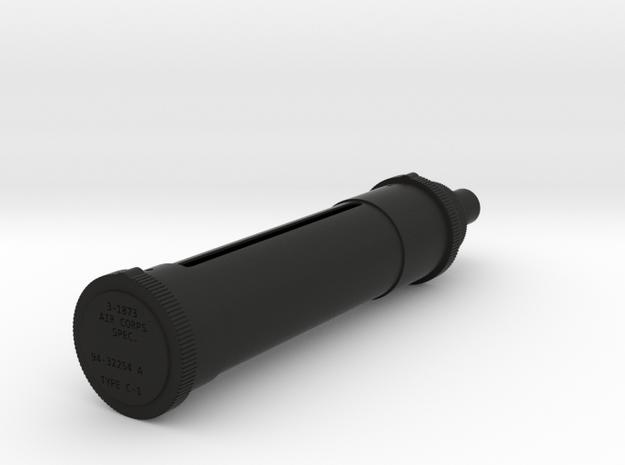 P40 Kittyhawk Light  in Black Natural Versatile Plastic