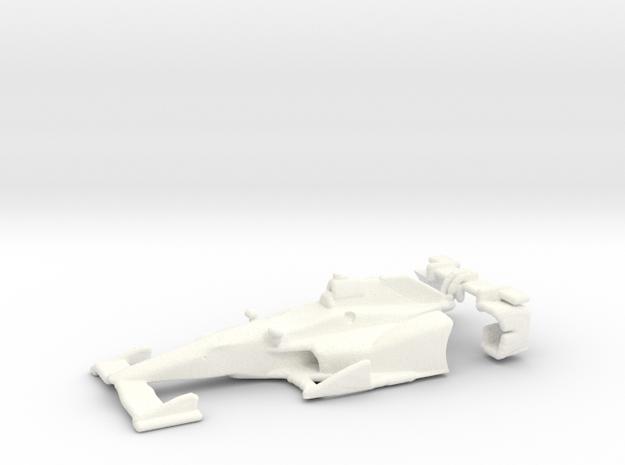 2015 Honda Speedway Aerokit 1:64 Scale Body in White Processed Versatile Plastic