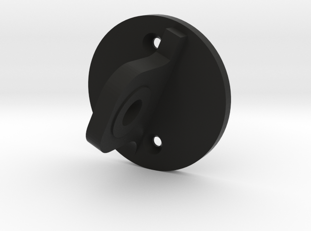 Mic Mount Adapter in Black Natural Versatile Plastic