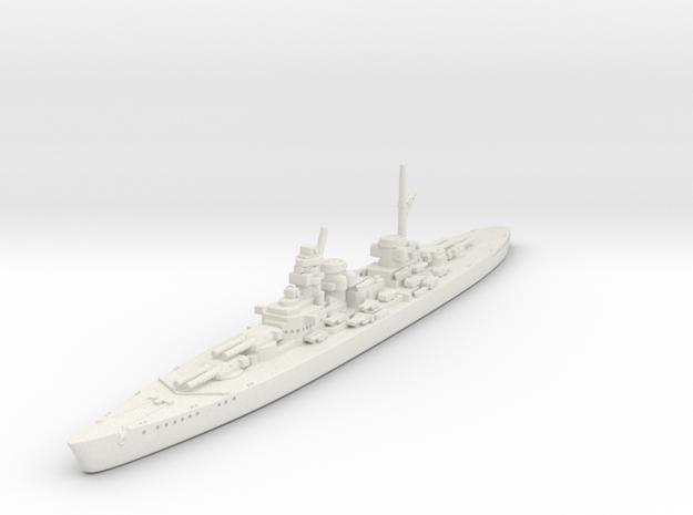 1/2400 KM H-44 Class BB in White Natural Versatile Plastic