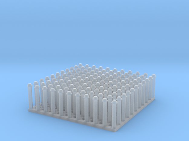 "1:24 Conical Rivet Set (Size: 0.75"") in Smooth Fine Detail Plastic"