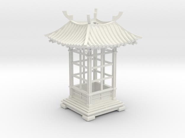 Japanese Pavilion Votive Shade in White Natural Versatile Plastic
