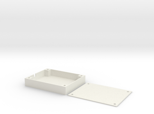 Z84 Wing Wing - GPS Tray in White Strong & Flexible