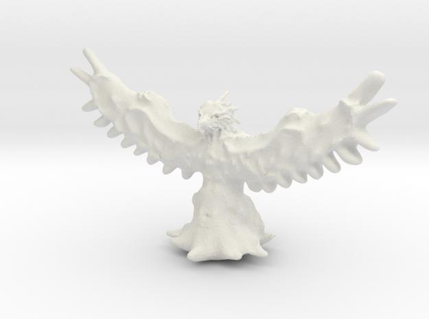 Phoenix Miniature in White Natural Versatile Plastic