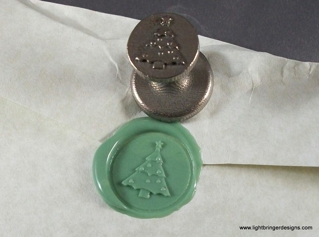 Christmas Tree  Wax Seal