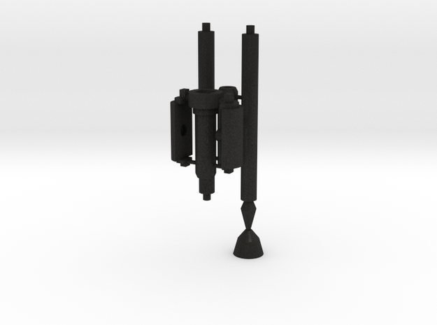 idw: Prime Axe Pole for voyager in Black Acrylic