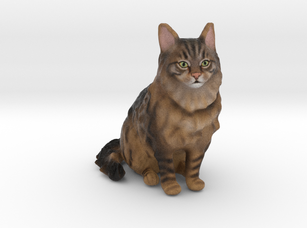Custom Cat Figurine - Balou