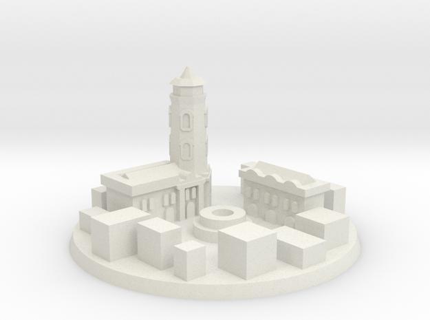 Stalingrad Victory City Marker in White Natural Versatile Plastic