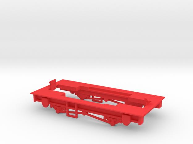 009 Sentinel - Part 5 in Red Processed Versatile Plastic
