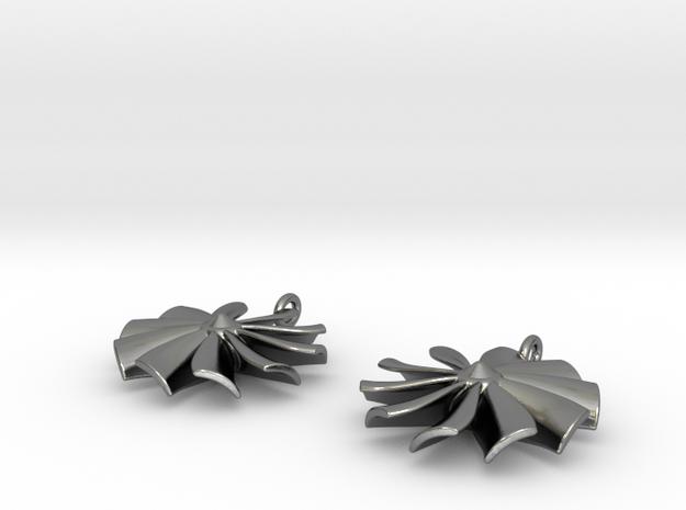 Turbine earrings