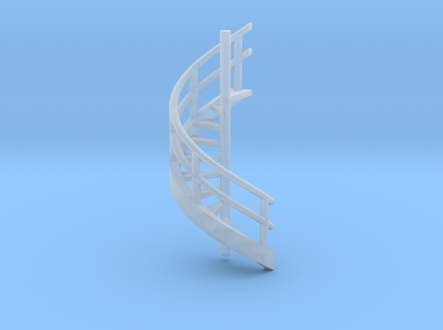 N Scale Revolving stairs