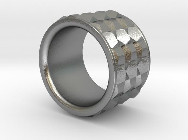 Ring P3nta in Natural Silver