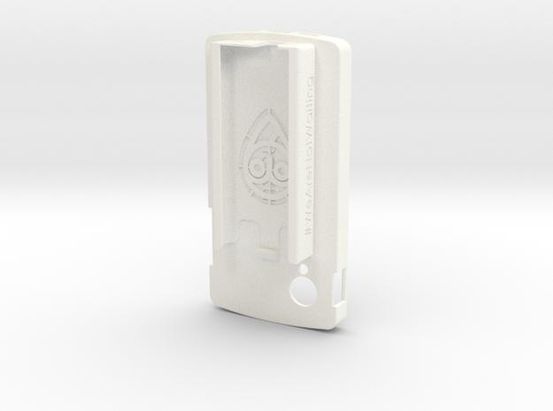 LG Nexus 5 / Dexcom Case - NightScout or Share in White Processed Versatile Plastic