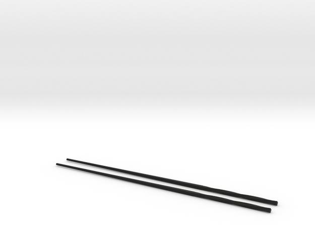 Ori Chopsticks in Black Natural Versatile Plastic