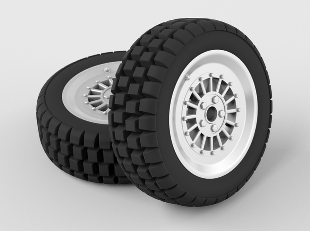 Car Rim for Model Scale 1/24 3d printed