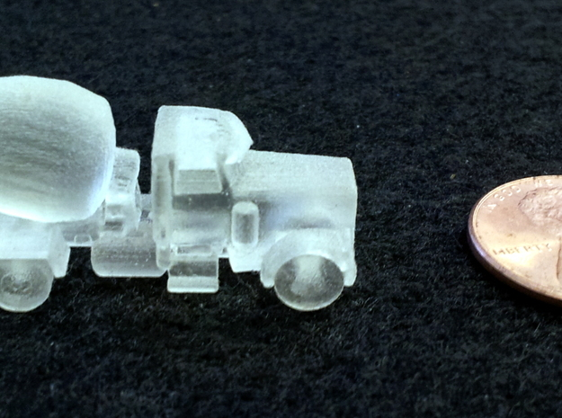 Cement Truck 3d printed